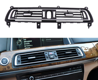 Front Center Air Outlet Vent Dash Panel Grille Cover Middle air conditioning outlet for BMW 7 series F02 2008-2015