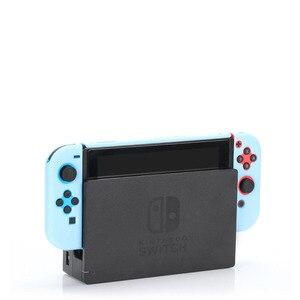 Image 4 - Funda desmontable de policarbonato para Nintendos Nintendo Switch NS NX, cubierta de espalda protectora dura, ultrafina