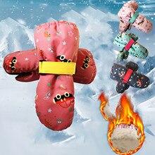 Gloves Winter Fasion Mitten Wind-Proof Outdoor Children New Sagace Ski-Riding-Warm