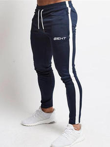 Cotton Trousers Tracksuit Joggers Gyms-Pants Fitness Workout Casual Fashion Men Skinny