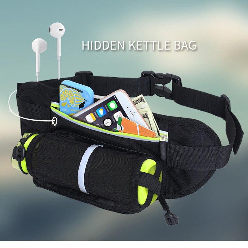 Impermeável esportes ao ar livre saco da cintura correndo bolsa de telefone celular garrafa de água tocha titular maratona caminhadas ciclismo gadget cintura saco