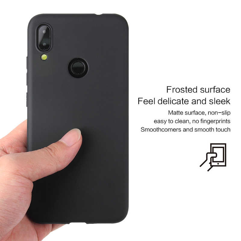 Redmi 7A الملونة بولي TPU سيليكون الحال بالنسبة شاومي Redmi نوت 7 نوت 8 الهاتف كوكه ل Redmi نوت 7 8 برو لينة الغطاء الخلفي للقضية 2019