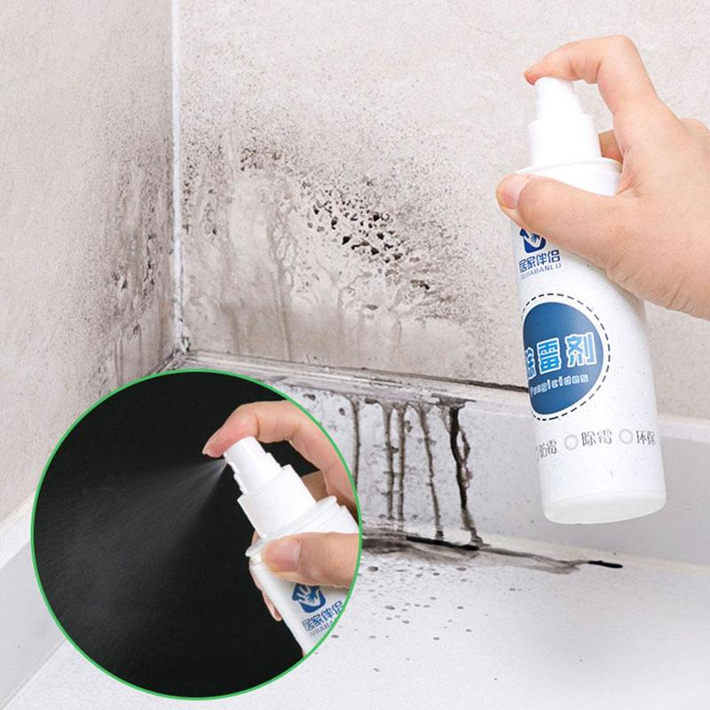 Quickly Remove Mold Rapid Mold Removal Spray Bathroom Wall Cleaner Household Car Cleaning Out Stains
