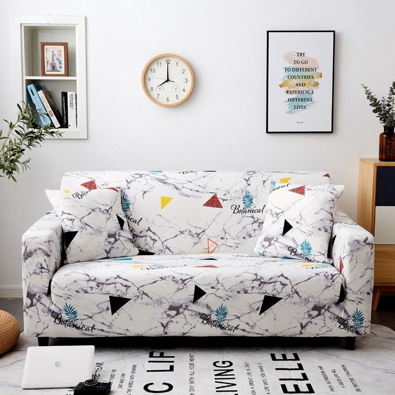 Triangle Stone sofa cover