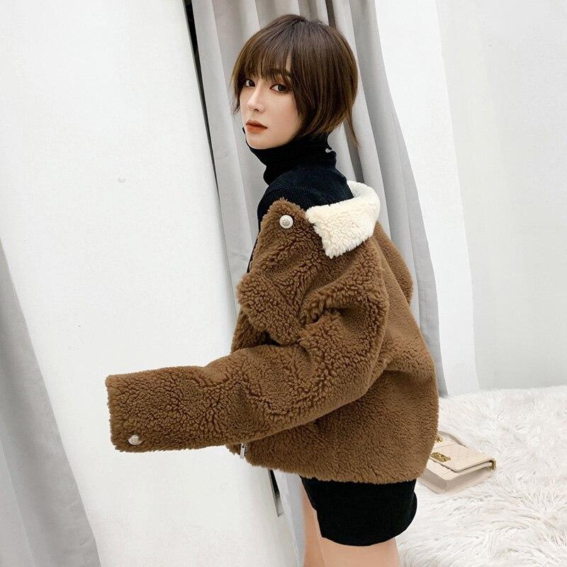 2019 Winter Clothes Short Wool Coat Women Korean Autumn Woolen Fashion  Jacket Elegant coat