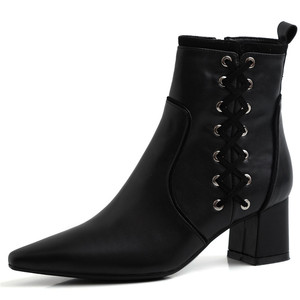 Image 4 - FEDONAS Quality Genuine Leather Women Ankle Boots Classic Pointed Toe Chelsea Boots Party Shoes Woman Elegant Office Prom Shoes