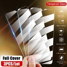Protecteur d'écran à couverture complète, Film en verre trempé pour Huawei P30 Pro P20 Lite Y5 Y6 Y7 Y9 Prime 2019 Nova 3E 4E