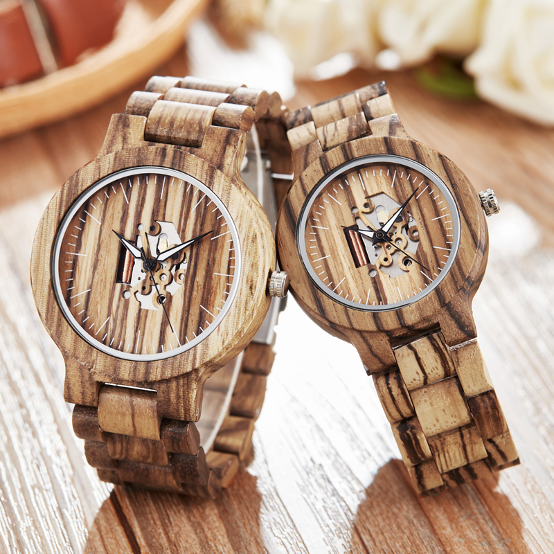 Natural Wooden Wristwatch Men Women Fashion Sport Casual Couple Watch Lover Clock Unique Male Female Dress Analog Military Hours