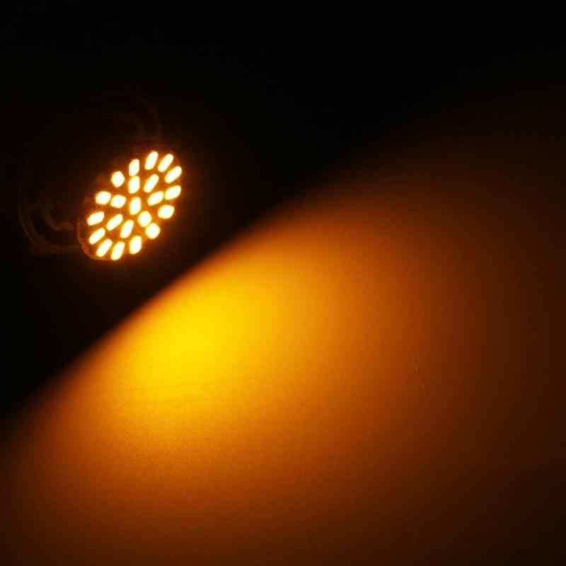 1 adet T20 1206 22 lamba SMD LED ampuller arabalar LED yedekleme kuyruk lambası ters ışık 5W araba ışıkları led otomatik lamba koşu sinyal ışığı