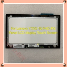 15.6 ''Voor Lenovo Y700-15 Y700 15 Fhd Ips Panel Led Lcd Touch Screen NV156FHM-A12 NV156FHM-N42 1920X1080