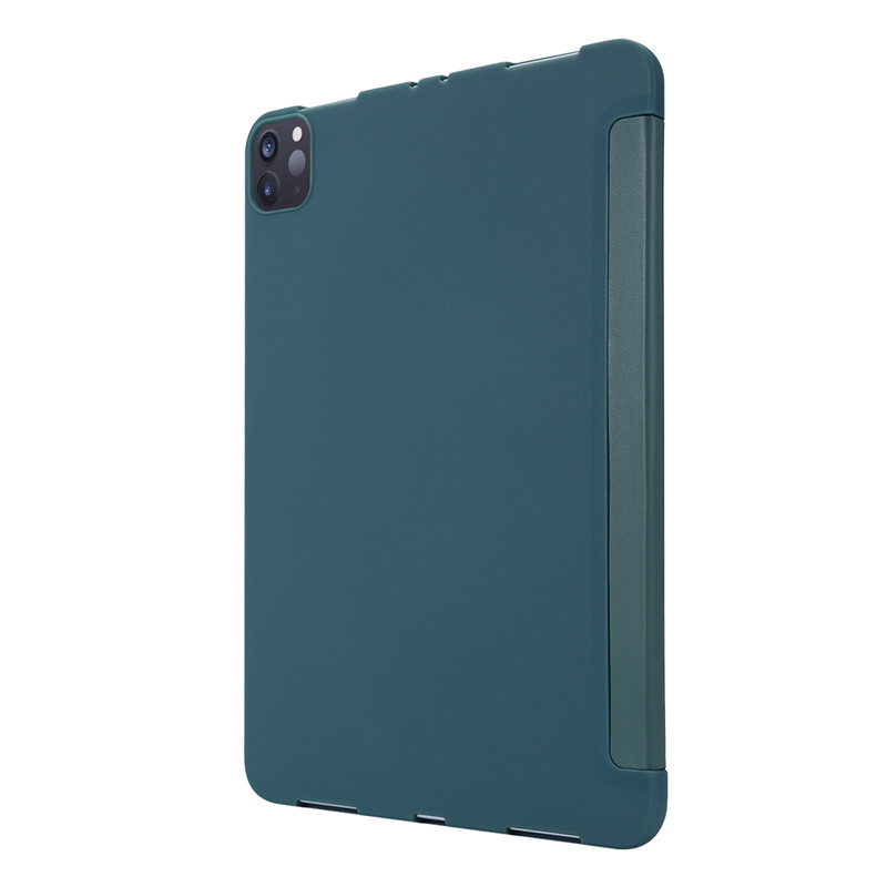 Case For Case PU For Leather 11Pro iPad 2020 Smart Silicone Cover Tri-fold Soft Case