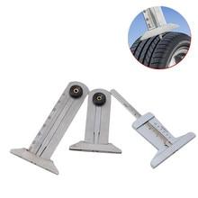 1 adet 30mm 50mm 60mm Metal lastik desen sürmeli oluk derinlik ölçer ölçüm aracı lastik desen güvenlik cetveli
