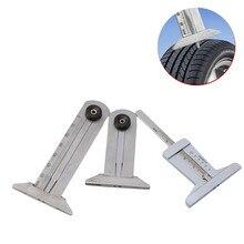 1 stücke 30mm 50mm 60mm Metall Reifen Muster Vernier Nut Tiefe Gauge Messung Werkzeug Reifen Muster Sicherheit herrscher