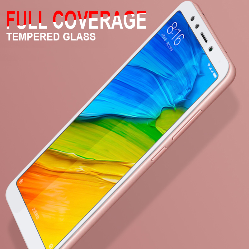 Защитное стекло 9D для экрана Redmi 5 Plus, 5A, 4A, 4X, 6, 6A, для Xiaomi Redmi Note 4, 4X, 5, 5A Pro, закаленное стекло, защитная пленка, чехол