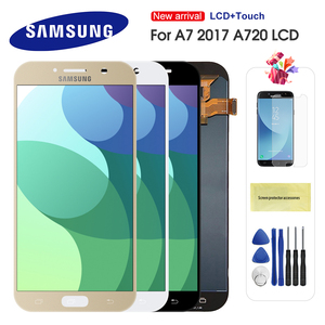 LCD For Samsung Galaxy A7 2017 A720 A720F A720M LCDs Touch Screen Digitizer Assembly Replacement For A7 A720 LCD Screen