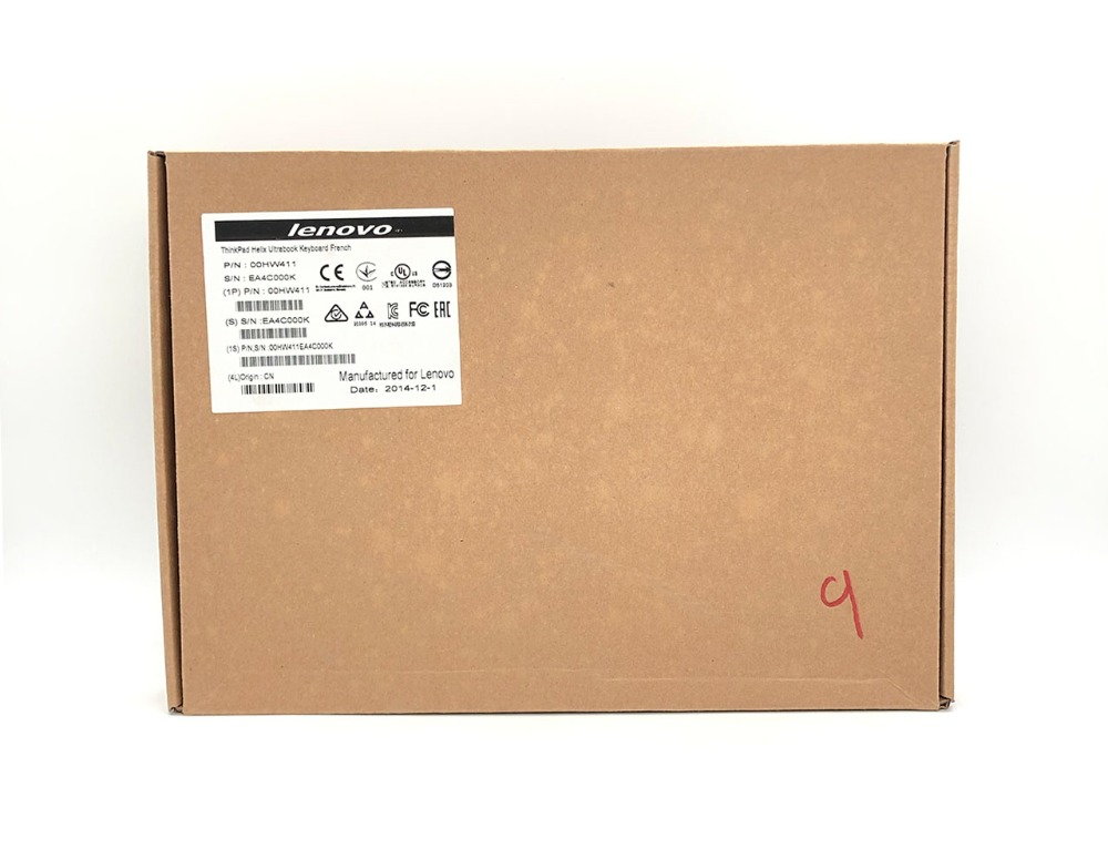 全新联想Helix Ultrabook 键盘底座 For ThinkPad X1 Helix(Type 20CG, 20CH) Laptop FR FRA FRU 00HW411 4X30G93864 SM10F58161AA