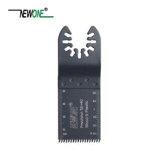 Image 2 - NEWONE à dégagement rapide 32/45/65mm HCS e coupe précision japon dent outils oscillants lames de scie outils électriques multifonctions