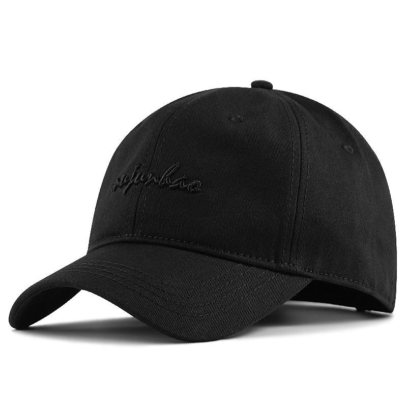 56-60cm 62-68cm Large Head Man Big Size Causal Peaked Hats Cool Hip Hop Hat Man Plus Size Baseball Caps