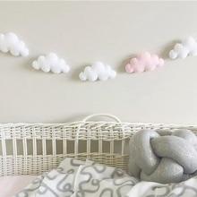 Украшение для детской комнаты в скандинавском стиле, украшение для дома в форме облака, декор для струн, настенные подвесные украшения, декор для кроватки, палатки, реквизит для фотосъемки