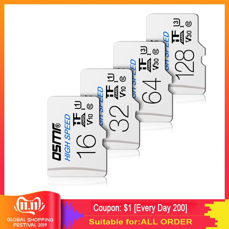 WS25 Micro Sd Card 256gb Sd Memory Card Flash Card 128 Gb Original 64gb TF Card 32GB MicroSD16gb 8gb Carte 512GB For Smart Phone