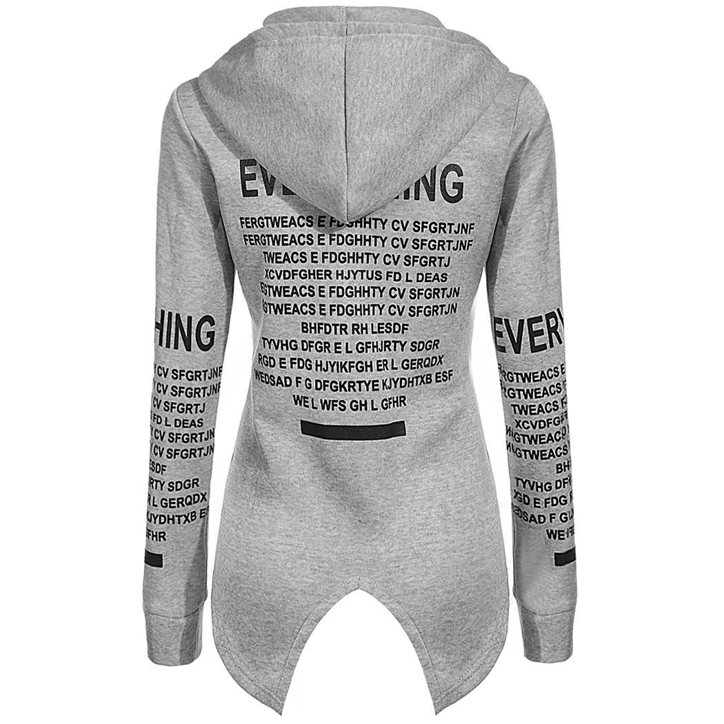 Soft Letter Printed Hoodie for Women 10