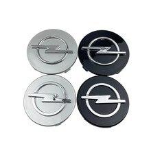 Centre de roue ABS avec emblème, 20 pièces, 56mm 59mm 60mm 64mm 68mm, pour voiture Opel