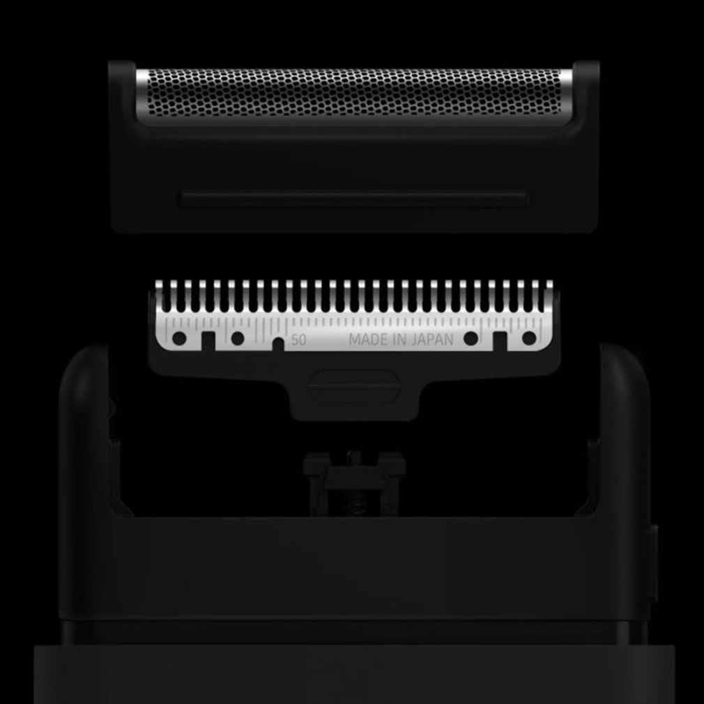 Перезаряжаемая портативная электробритва, бритва из стали, мужская, для путешествий, съемная бритва, резак для Xiaomi