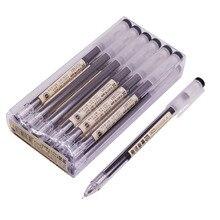 Гелевая ручка для сдачи экзамена, 3 коробки, 36 шт., чернила большой емкости 0,5 мм, игловидный наконечник, канцелярские принадлежности для студентов, Офисная ручка для письма, плавное письмо