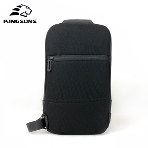 Image 3 - Kingsons 2019 New 3174 A  Leisure Travel Single Shoulder Backpack 10.1 inch Chest Backpack For Men Women Casual Crossbody Bag