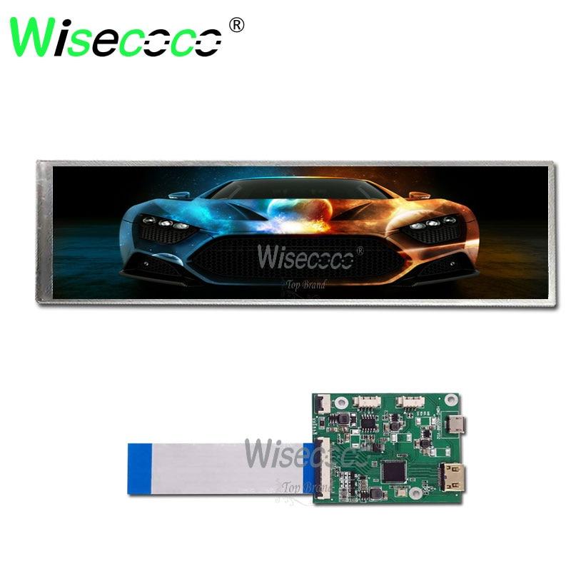 8.8 polegada ips 1920x480 60hz 40 pinos de tela lcd com hdmi micro porta usb placa controlador para exibição automotivo framboesa