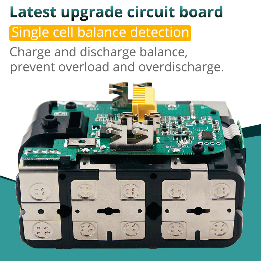 Bl1860b 18 v 6000 mah bateria de