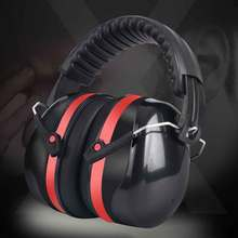 Noise Reduction Safety Earmuffs Ear Protection SNR 35 DB for 105 db Environment Adjustable Personal Hearing Protector Earmuffs