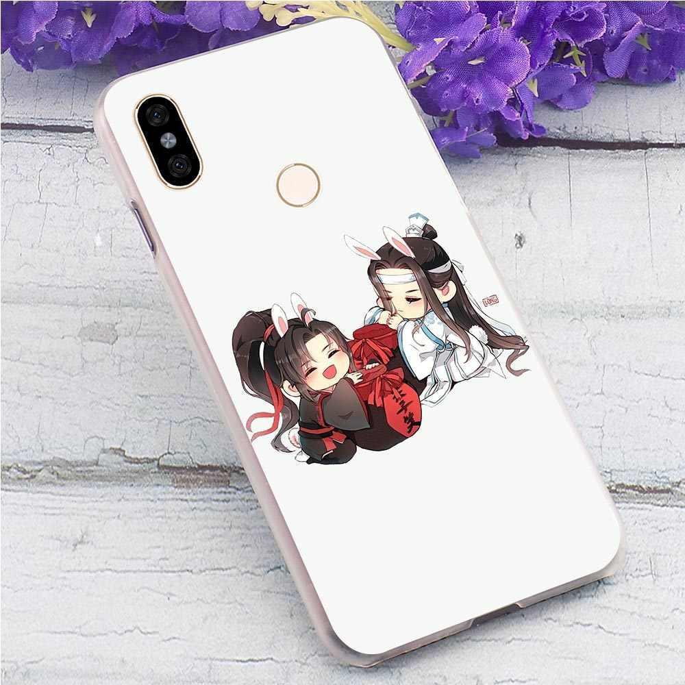 Mo Dao Zu Shi telefon kapak Xiaomi Redmi için not 7 Pro vaka 4X 4A 5 artı GO 6A 7A k20 not 3 4 5 6 5A başbakan için cilt