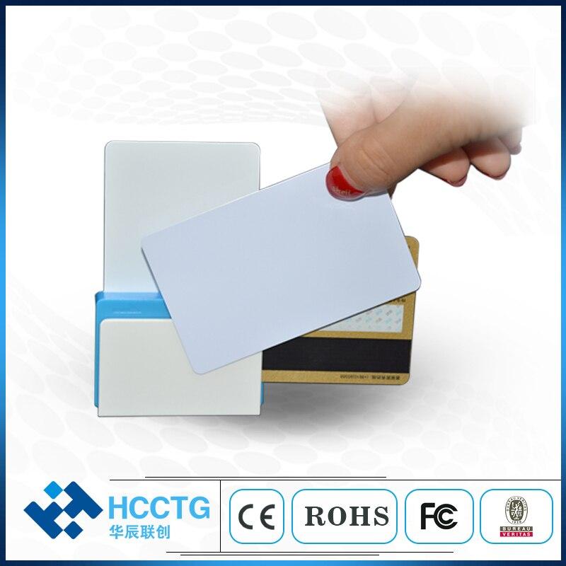 Lecteur de carte de crédit Mobile EMV Bluetooth trois-en-un NFC + RFID + IC + lecteur de carte Mobile magnétique Mifare pour Android IOS MPR110 - 2