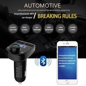 Car Accessories Bluetooth FM T