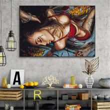 Картина на холсте картина маслом современные сексуальные женские