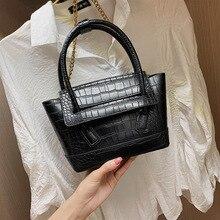 High quality Trapeze Alligator Shoulder Messenger Crossbody Bags Womens Handbag 2019 New Fashion Ladies Purse female Tote