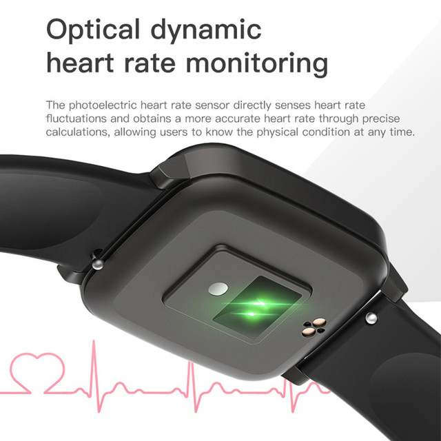 T1 Body Temperature Measure Smart Watches Men Women Heart Rate Blood Pressure Monitor Push Message Weather Forecast Smartwatch 4