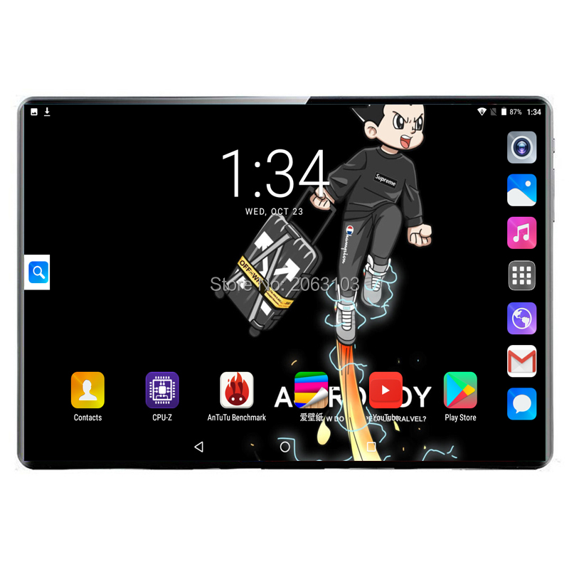 New Tablets Google Play Android 9.0 OS 10 Inch Tablet Deca Core 8GB RAM 128GB ROM 1920*1200 IPS GPS Kids Tablets 10 10.1