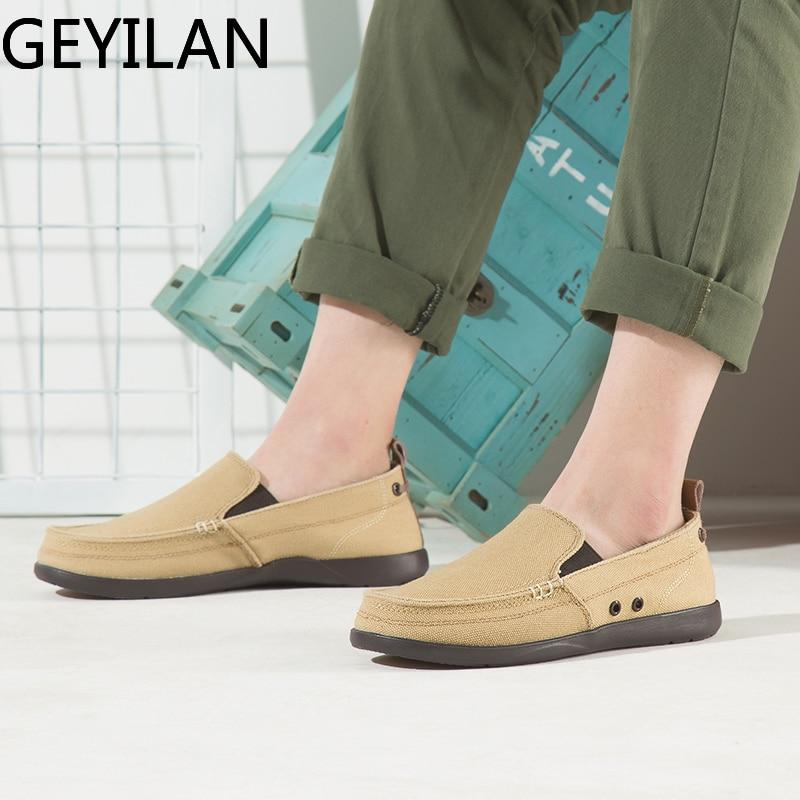 Уличная Мужская парусиновая обувь Мужская модная однотонная удобная повседневная обувь мужские летние лоферы на шнуровке, светильник разм