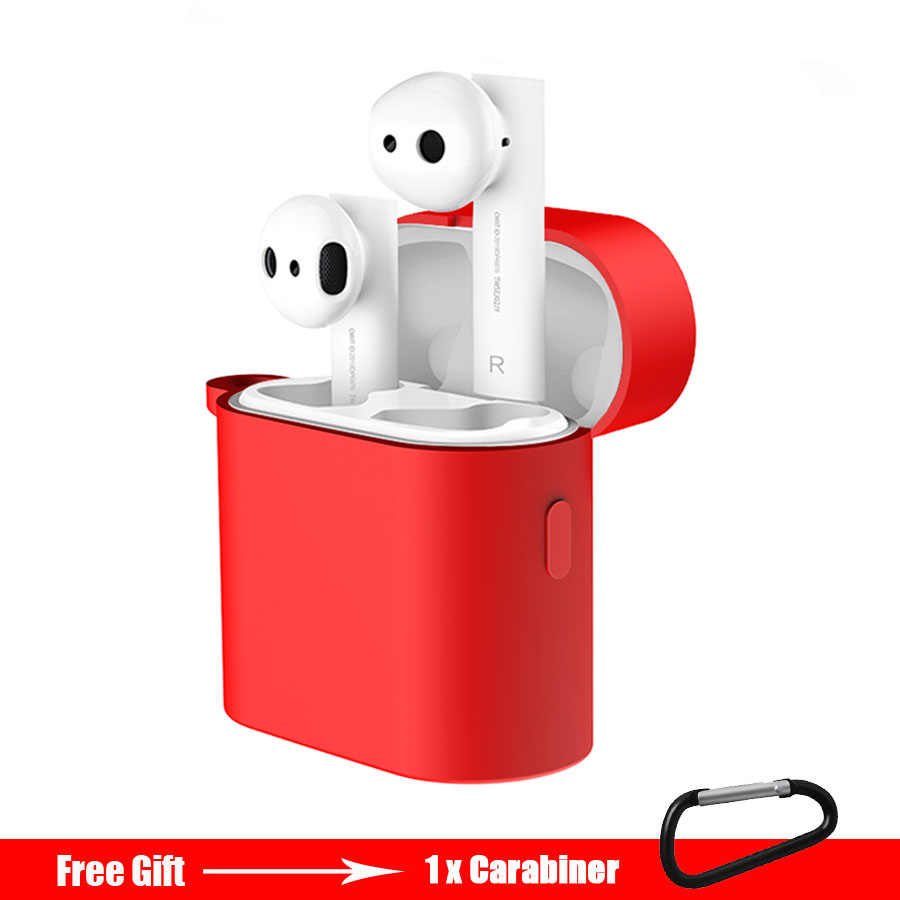 Earphone Case For Xiaomi Airdots Pro 2 Shockproof Protective Case Cover For Xiaomi Mi Air 2 TWS Wireless Bluetooth Headset Pouch