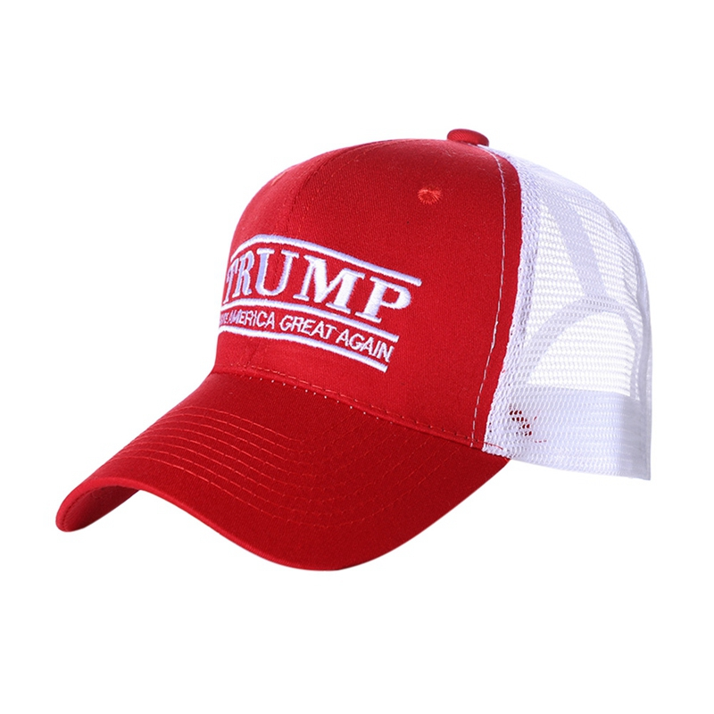 Président américain élection accessoire Baseball course sport Anti-UV homme femmes sport casquette à pointe maille respirant parasol chapeau