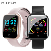 """Scomas relógio 4 relógio inteligente 1.3 """"ips tela iwo 8 lite freqüência cardíaca monitor de pressão arterial saúde esporte smartwatch para ios android Relógios inteligentes     -"""