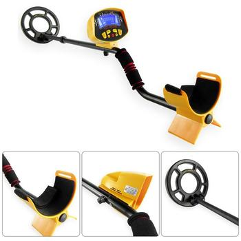 Ground Searching Metal Detector Portable Nugget Finder 1-1.5M Gold Silver Detector Treasure Hunting Tool