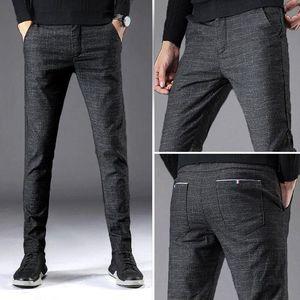 Golf Slim Trousers Elastic Pla