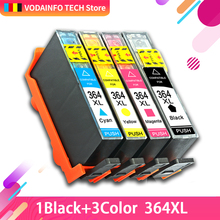 QSYRAINBOW Compatible 364 XL Replacement for HP 364 HP364 684EE Ink Cartridge Deskjet 6510 B209a C510a 3070A 5510 Printer hp 364 цена 2017