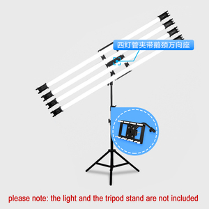 Image 2 - Nanguang Nanlite Led Pavo Buis Licht 15C 30C Houder Beugel Buis Klem (Exclusief Licht Stand)
