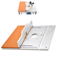 Trimming Flip Board Woodworking Electric Wood Milling Trimming Flip-Chip Aluminum Woodworking DIY Designed With Scale And Ruler