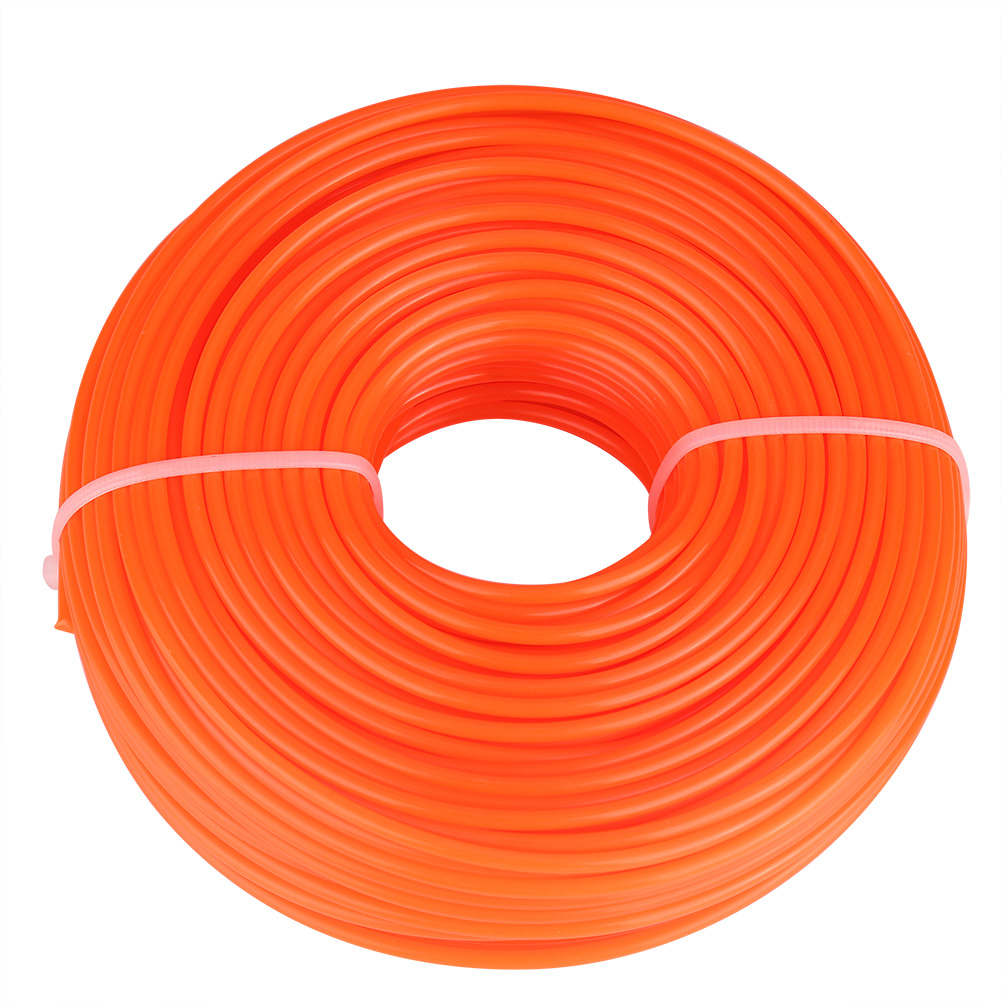 3mm Trimmer Line Nylon Cord Wire Round String Petrol Grass Trimmer Round Lawn Mower Nylon Cutting Line 50m/120m