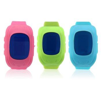 Q50 Детские Смарт-часы с GPS трекером, детские наручные часы с OLED экраном, SOS звонком, анти-потерянный трекер безопасности для iOS, Android, подарок дл...
